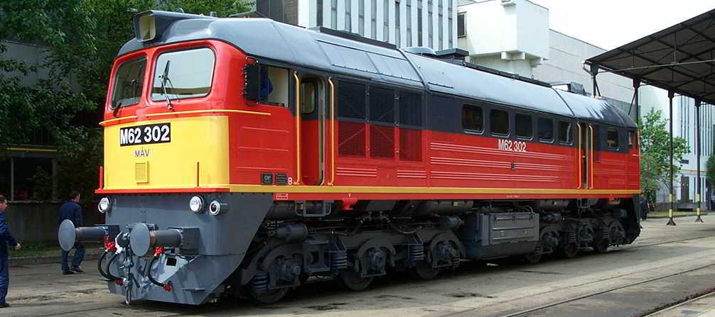 Diesel mozdony